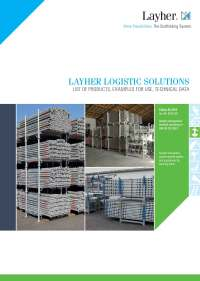 Layher Accessories System-Free catalogue