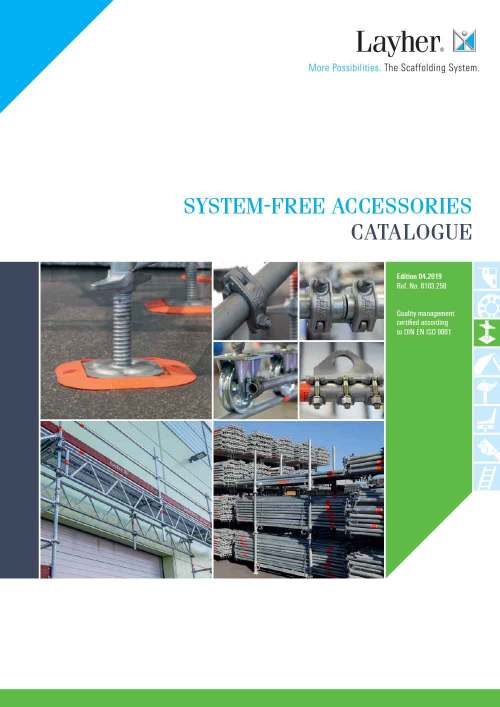 Layher Accessories System-Free