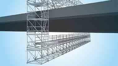 Allround FW System scaffolding