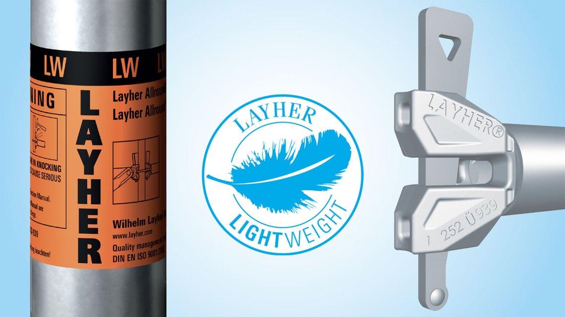 Layher Allround Lightweight Steel Scaffolding