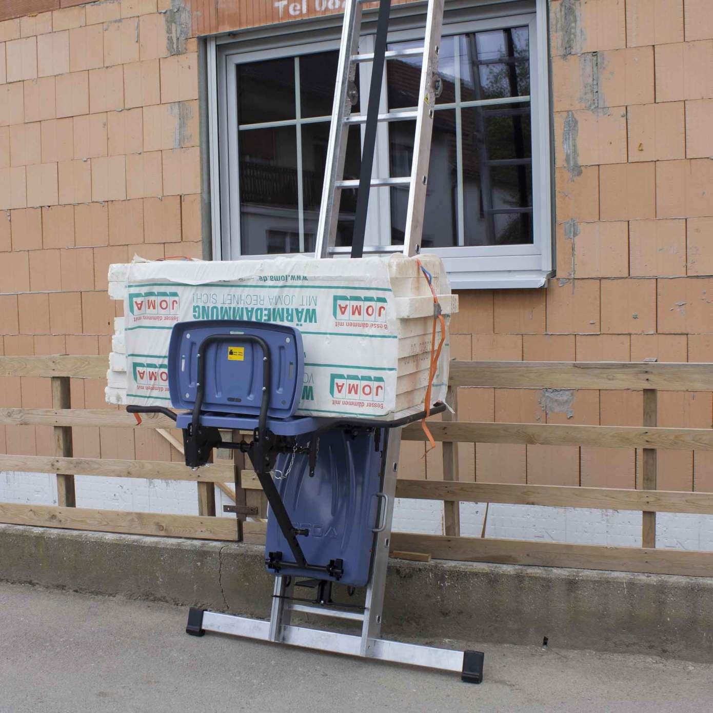 GEDA materials lift