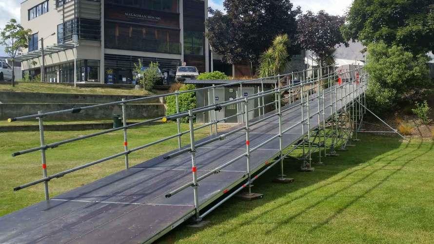 Certified Runway Ramp by Certified Scaffolding