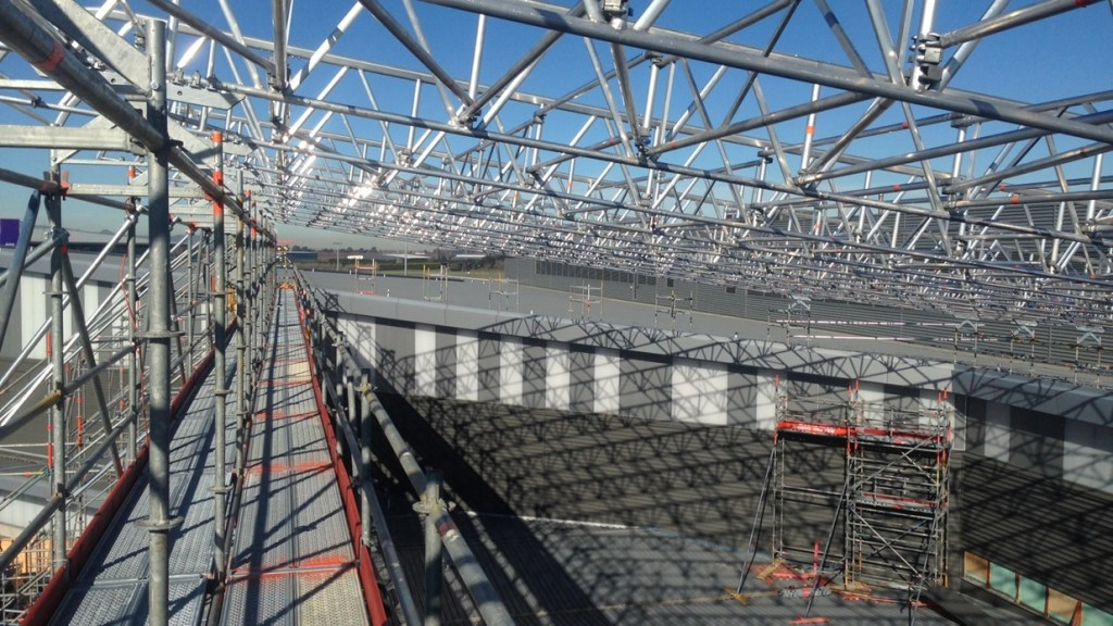 Keder Roof System is capable of span in excess of 20m