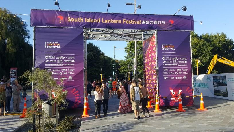 Christchurch Lantern Festival by Upright Scaffolding