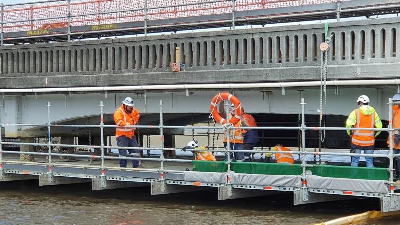 Innovative FlexBeam bridge scaffold by TPL Access
