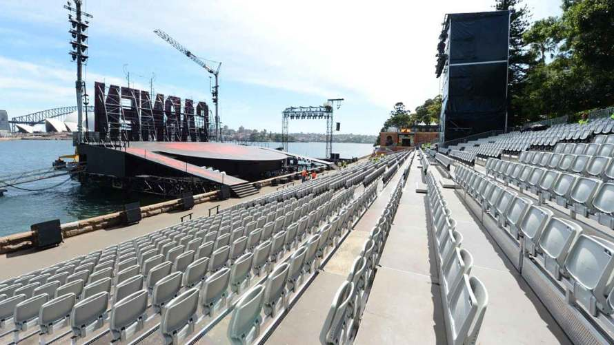 Grandstand Seating on Sydney Harbour by Clifton Productions
