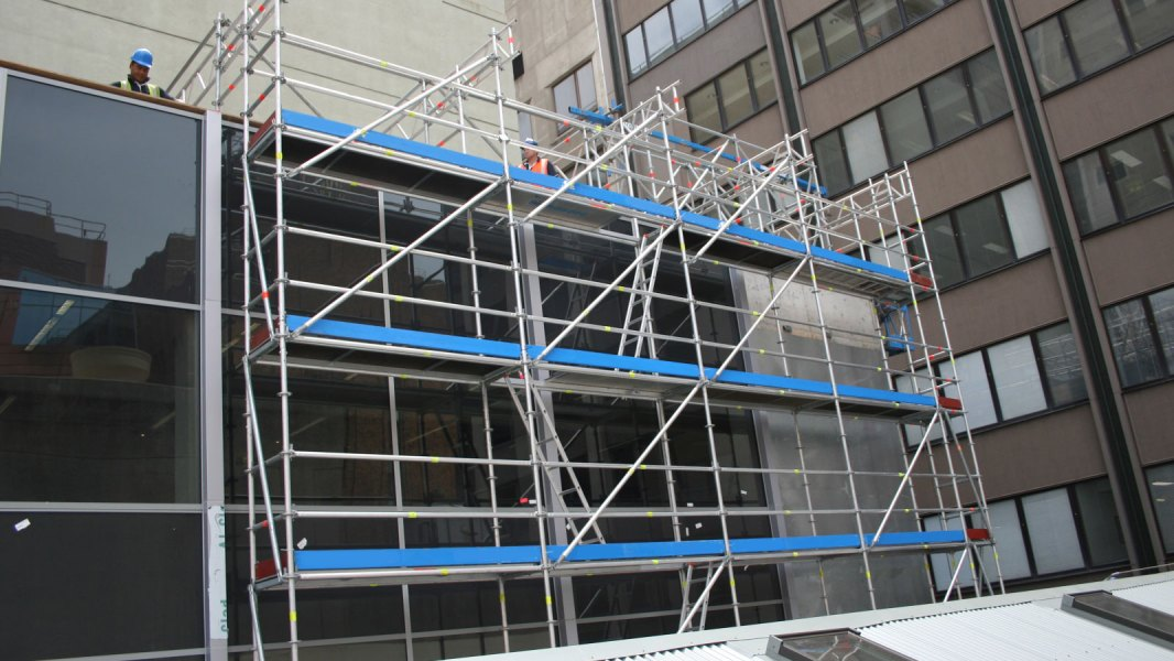 Layher Allround Aluminium Scaffolding