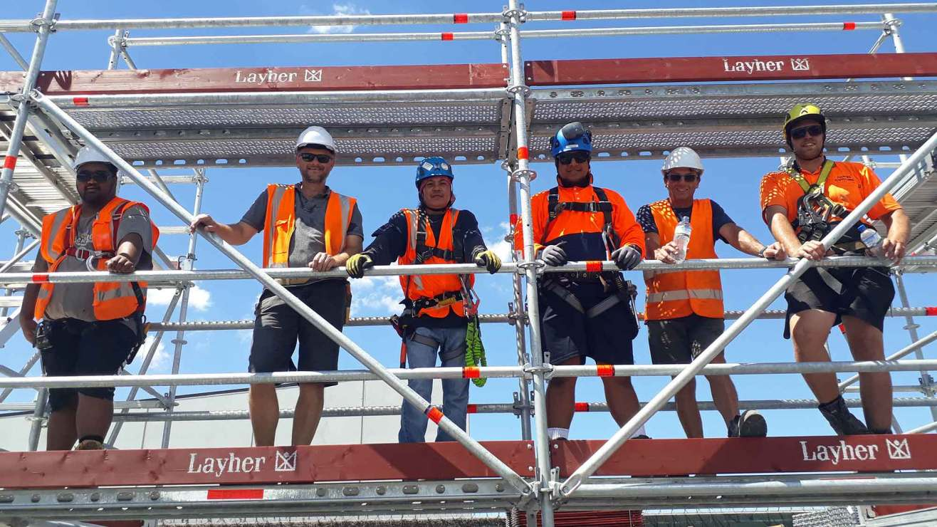 Layher scaffolding training courses
