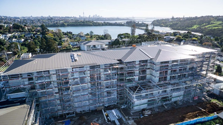 Meadowbank Retirement Village by South Pacific Scaffolding