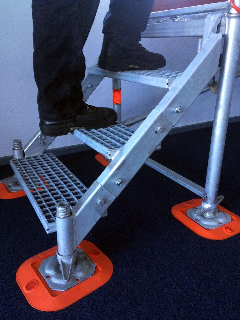 Layher Modular Stairway