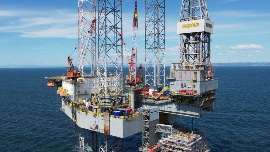 Offshore Gas Production Platform by DIALOG Fitzroy
