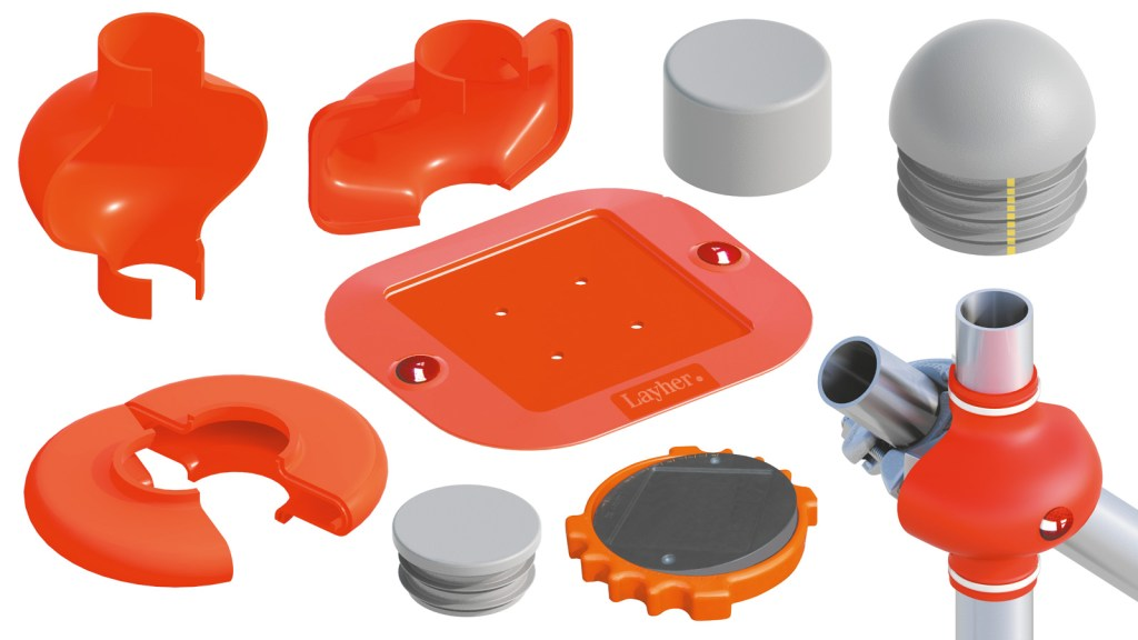 Protective pieces, covers and caps