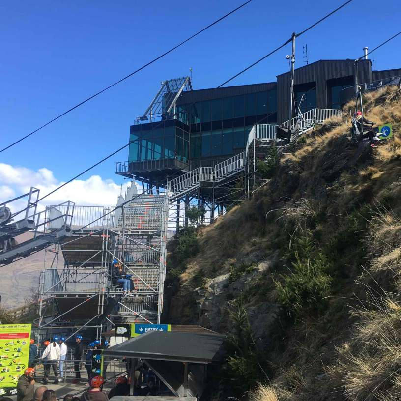 Brazier Scaffolding conquered steep challenges with this public access stairway