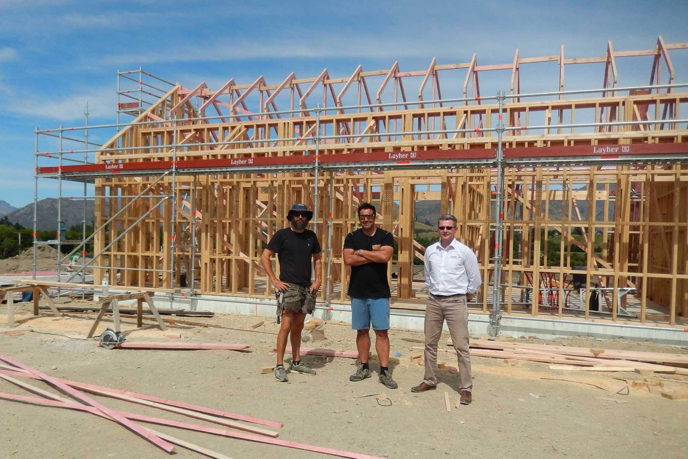 Layher builds partnerships with construction professionals and business owners