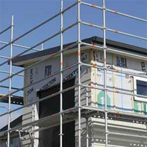 Scaffolding for residential builders