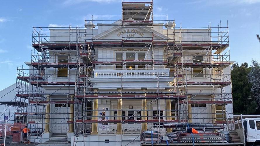 Royal Opera House Repairs by Scafit