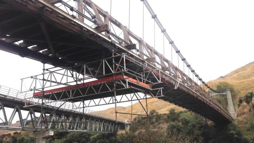 Under Bridge Rolling Platform by Euro Scaffolds