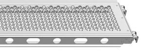 Plataforma de acero de Layher