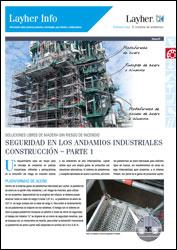 Layher Info 093 - Seguridad en los andamios industriales