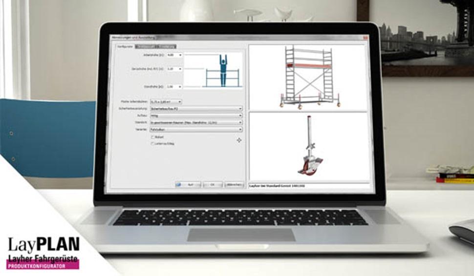 Software LayPLAN para torres móviles