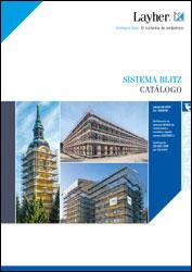 Portada catálogo sistema de andamios de marco Blitz