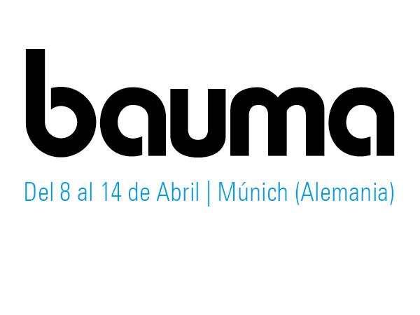 Logotipo Bauma 2019