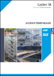 Folleto accesos temporales Layher