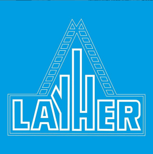 Primer logotipo de Layher