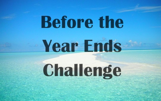 Before the Year Ends Challenge 2016
