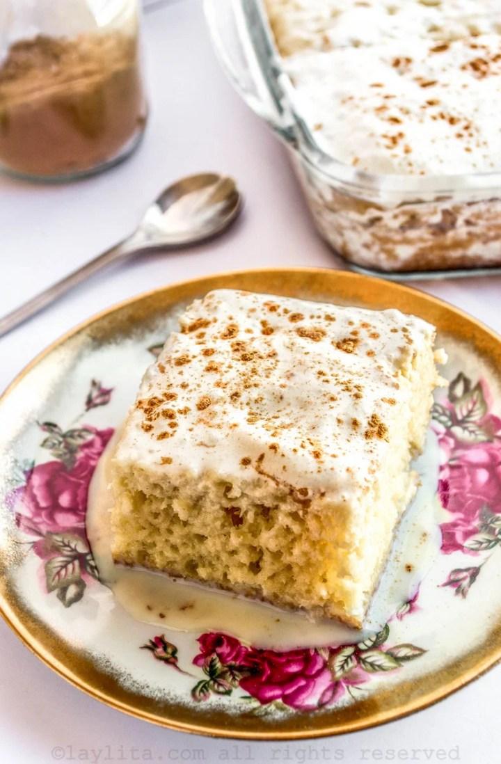 Pastel o torta tres leches