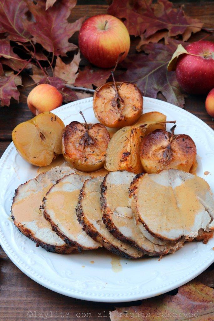 Recette du porc rôti au cidre