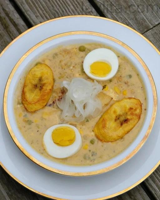 Ecuadorian fanesca or Easter soup