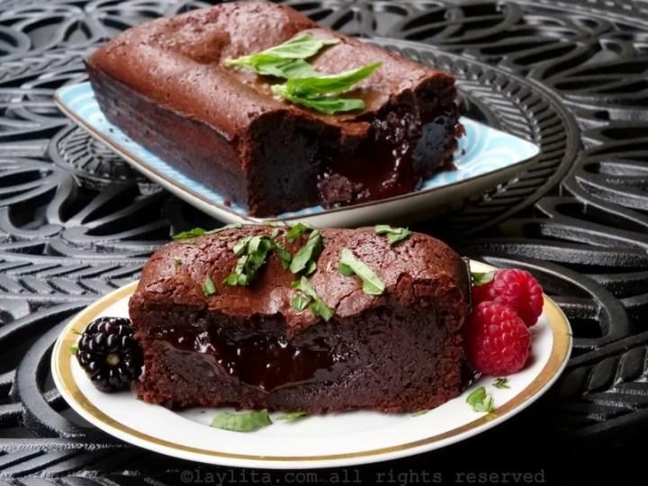 Moelleux au chocolat recipe
