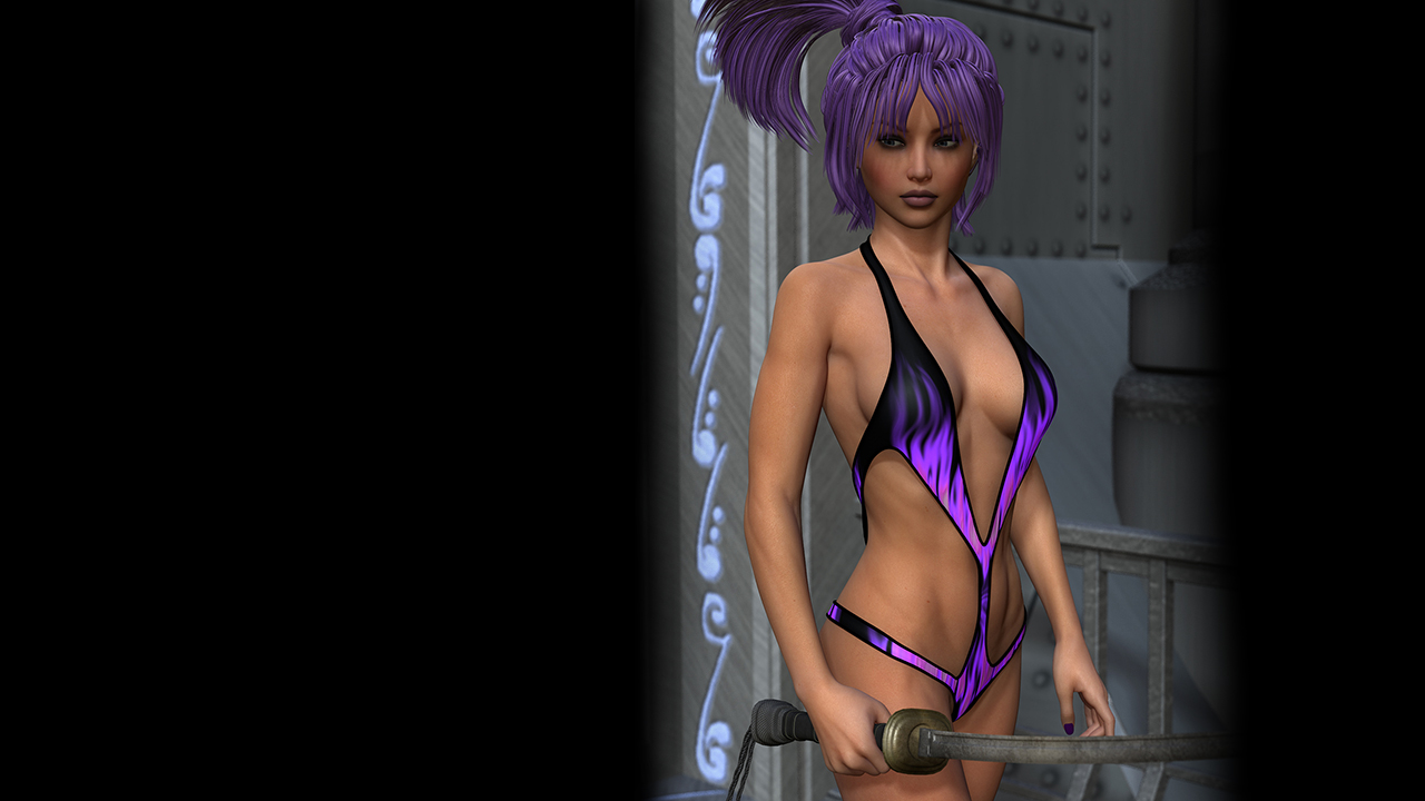 Sci-Fi/Magic Textures for the Superhero Monokini