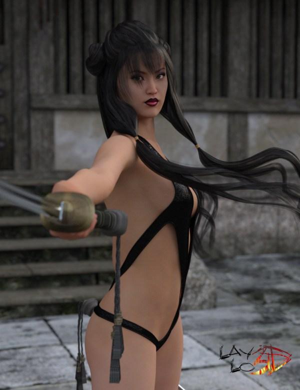 Superhero Monokini for Mei Lin 6