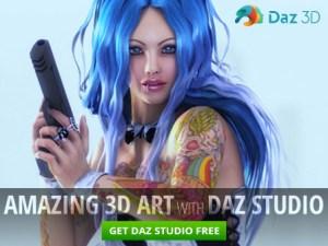 Amazing 3D Art with DAZ Studio