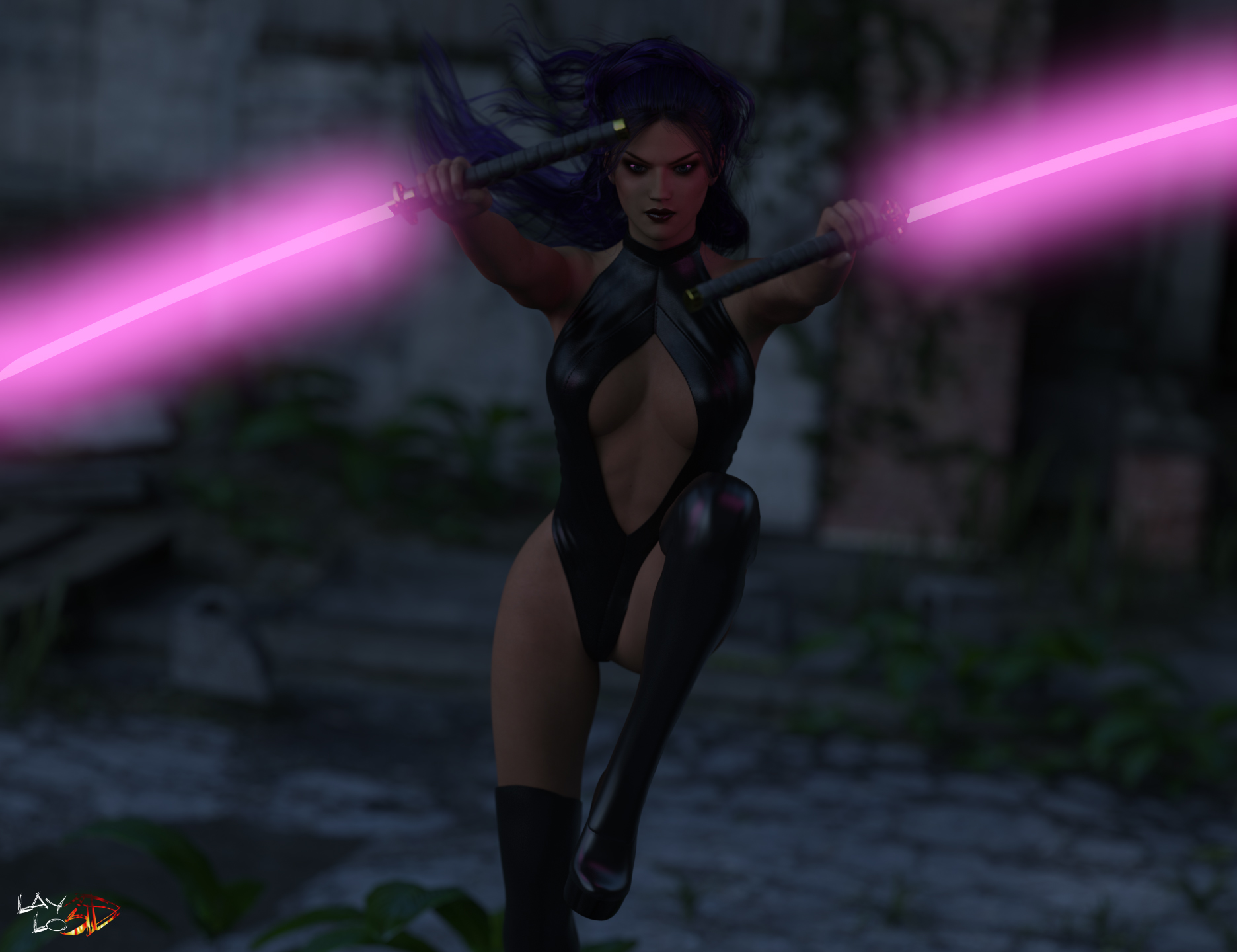 Liz As Psylocke 01