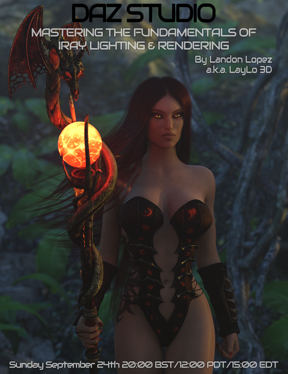 Daz Studio: Mastering the Fundamentals of Iray Lighting & Rendering