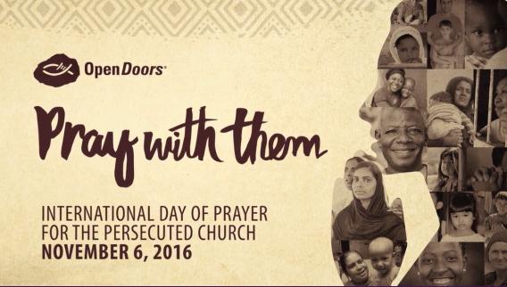 international day of prayer, Christian persecution, prayer,