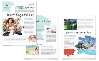 Extra design templates are found listed below. 115 Newsletter Templates Word Publisher Microsoft Office