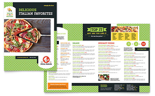 Free Restaurant Menu Template Download Word & Publisher