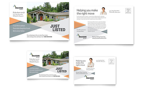 Postcard Templates Word & Publisher Templates