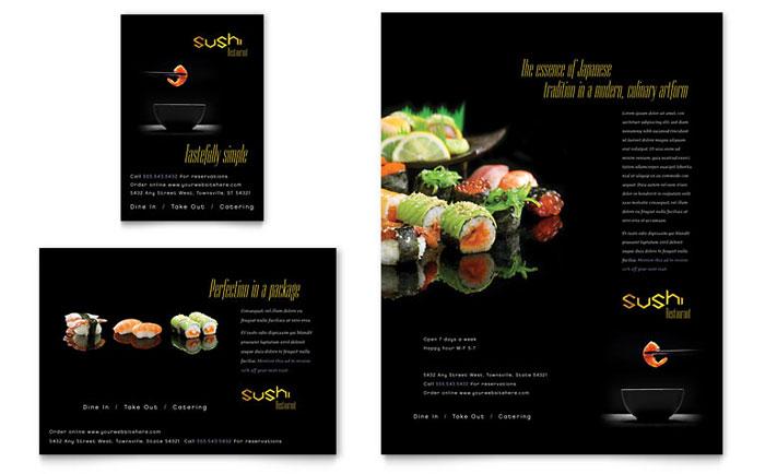 restaurants menu templates