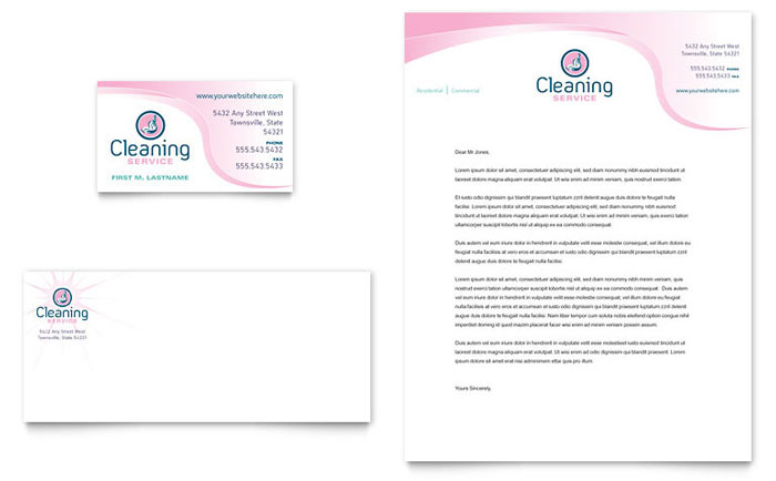 examples of letterheads for business letters