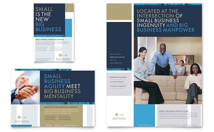 business leaflet template