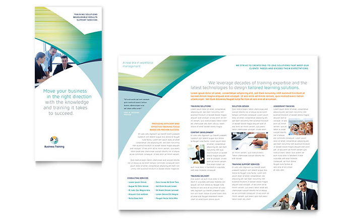 Best Practices Tri Fold Brochure For Nonprofits Examples