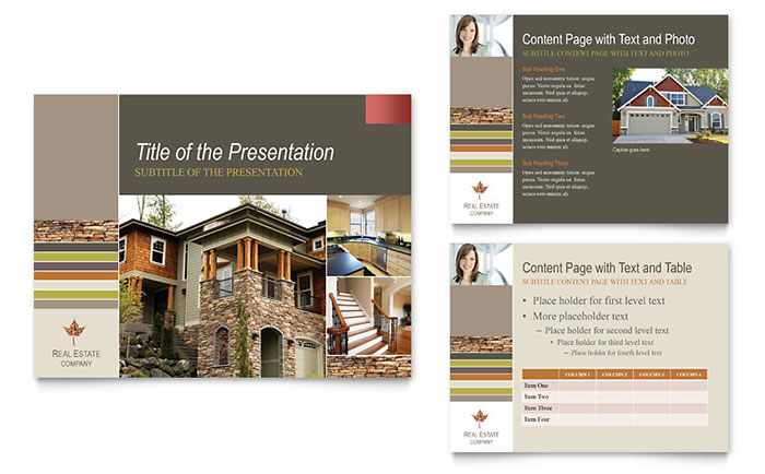 Free Presentation Template PowerPoint Templates