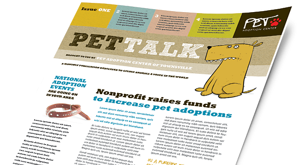 Pets Amp Animals Brochures Amp Flyers Word Amp Publisher Templates