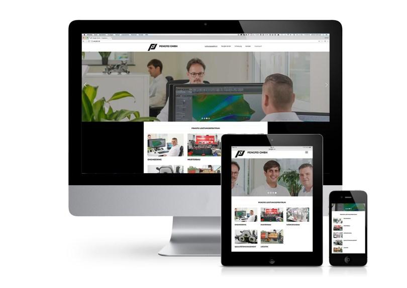 Internetauftritt Pengfei GmbH