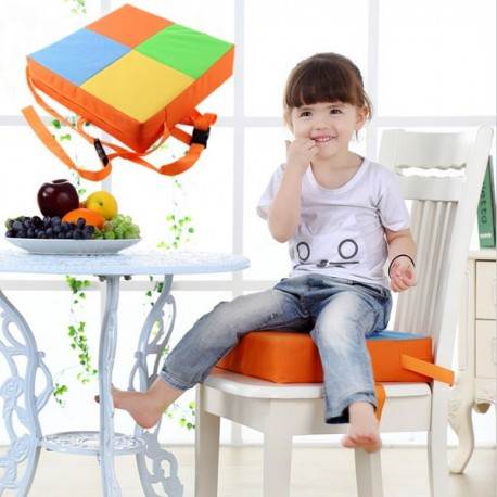 toddler chair booster seat kitchen cushions pier one orange pad for baby kid lazaara